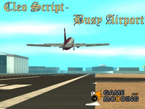 Busy Airports for GTA San Andreas