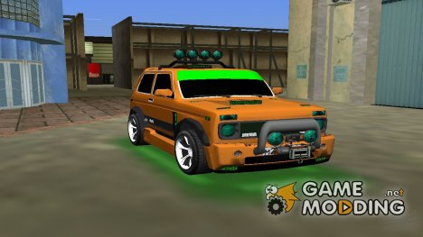 VAZ 21213 NIVA 4x4 Tuning for GTA Vice City