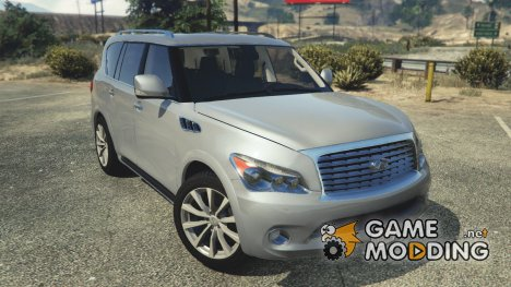 Infiniti QX56 v1.1 for GTA 5