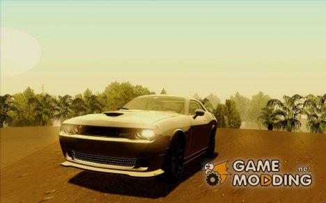 Пак Dodge Challenger 2009-2015 для GTA San Andreas