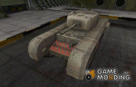 Контурные зоны пробития Churchill VII для World of Tanks