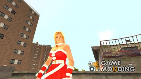 Dead Or Alive Tina 5 Christmas Costume для GTA 4