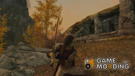 The sword of Jack Rowling для TES V Skyrim