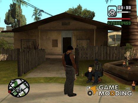 Попрошайки для GTA San Andreas