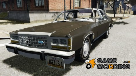 Ford Crown Victoria 1983 для GTA 4
