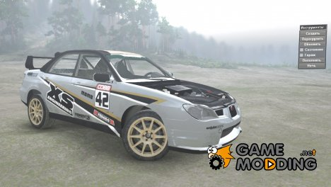 Subaru Impreza STI 2.5 2007 for Spintires 2014