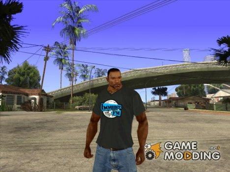 CJ в футболке (Bounce FM) для GTA San Andreas