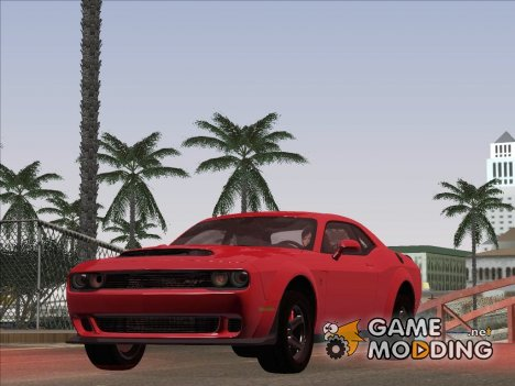 2017 Dodge Challenger Demon для GTA San Andreas