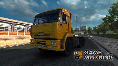 Kamaz 6460 (4×4 6×4 6×6) with improved off-road suspension for Euro Truck Simulator 2