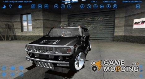 Hummer H2 для Street Legal Racing Redline