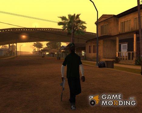 Новый Sweet с рукавами Art version для GTA San Andreas
