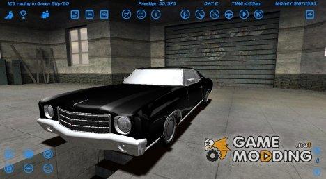Chevrolet Monte Carlo 1970 for Street Legal Racing Redline