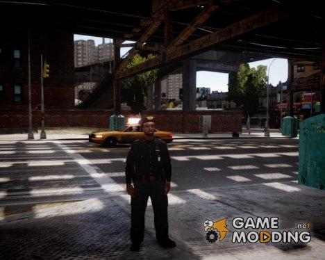 Русский милиционер для GTA 4