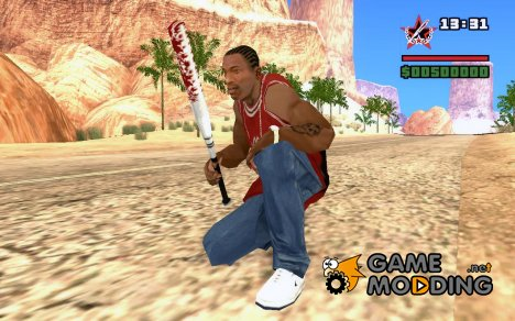 Окровавленная бита для GTA San Andreas