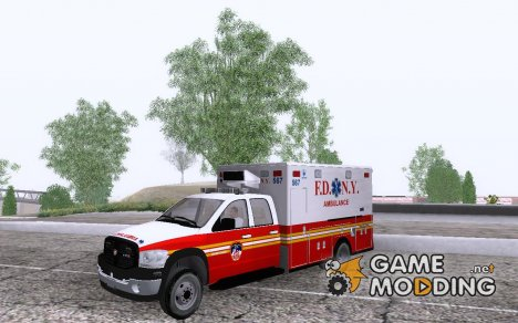 Dodge Ram Ambulance for GTA San Andreas