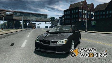 Subaru Impreza WRX STI для GTA 4