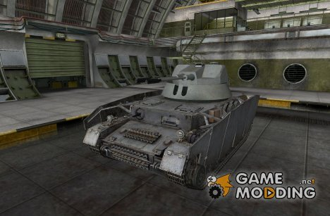 Ремоделинг для Pz IV AusfGH для World of Tanks