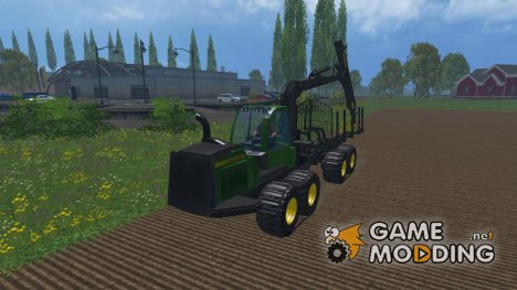 John Deere 1510E for Farming Simulator 2015