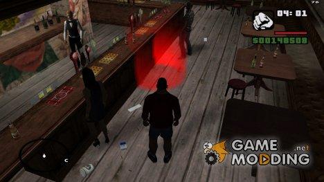 Пить водку в баре у Гр. ст. 1.0 for GTA San Andreas