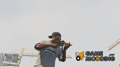 Tactical MP5K for GTA 5