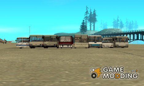 BUSmod Pack for GTA San Andreas