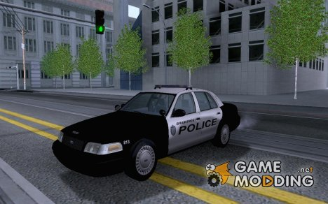 Ford Crown Victoria Braintree, MA Police для GTA San Andreas