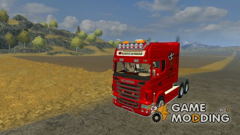 Scania Longline V Rot для Farming Simulator 2013