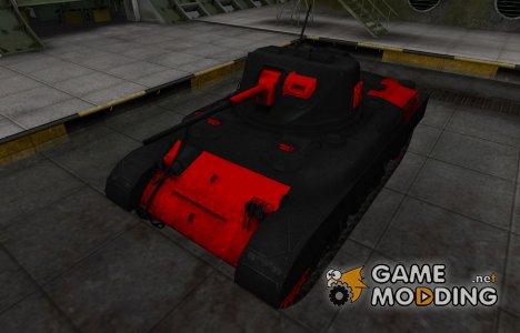 Черно-красные зоны пробития M7 for World of Tanks