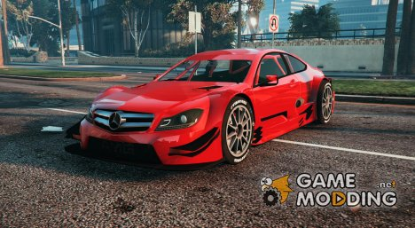 Mercedes-Benz AMG DTM C204 13 for GTA 5