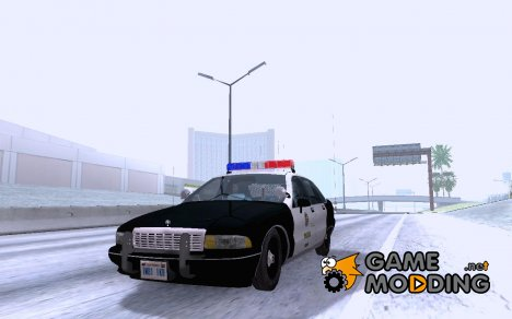 1992 LAPD Caprice for GTA San Andreas