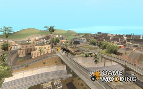 10x Increased View Distance для GTA San Andreas