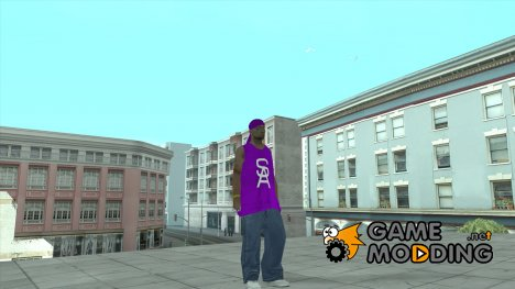 Ballas from GTA V in GTA SA Style for GTA San Andreas