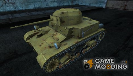Шкурка для T2 lt for World of Tanks