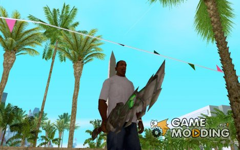 Меч из World of Warcraft для GTA San Andreas