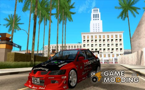 Mitsubishi Evo 9 Touge Union for GTA San Andreas