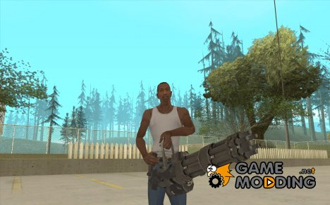 Миниган из Call of Duty Black Ops для GTA San Andreas