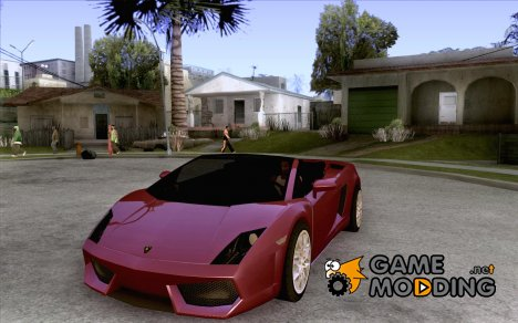 Lamborghini Gallardo Spyder v2 for GTA San Andreas