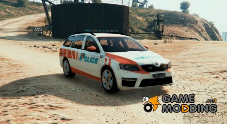 Skoda Octavia RS Swiss - GE Police for GTA 5