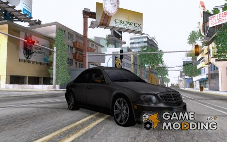 Sedan from Modern Warfare 3 для GTA San Andreas