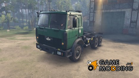 МАЗ 6317 for Spintires 2014
