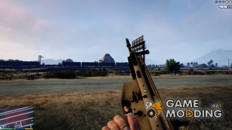 Battlefield 4 SCAR-H for GTA 5