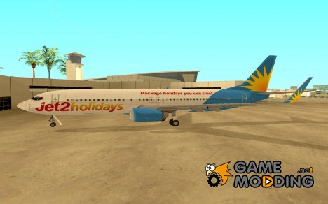 Boeing 737-800 Jet2 Holidays for GTA San Andreas