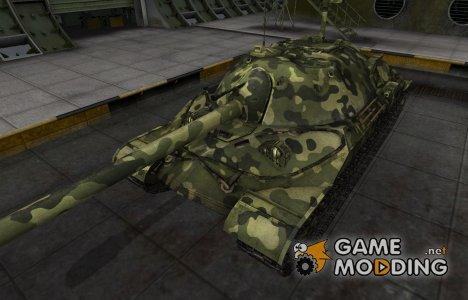 Скин для ИС-7 с камуфляжем для World of Tanks