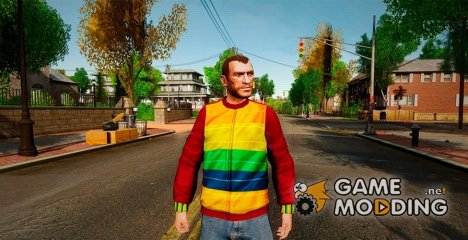 Playboy Sweater для GTA 4