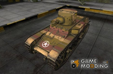 Шкурка для T1E6 для World of Tanks