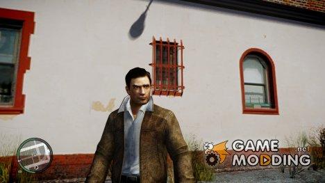 Вито из Mafia II в кожаной куртке для GTA 4
