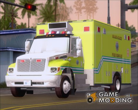Pierce Commercial Miami Dade Fire Rescue 12 for GTA San Andreas