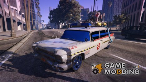 "Cadillac Miller-Meteor 1959 ""Ghostbusters ECTO-1"" for GTA 5"