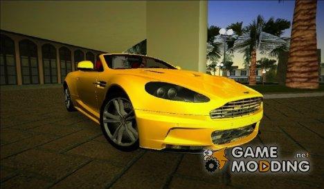 Aston Martin DBS Volante for GTA Vice City