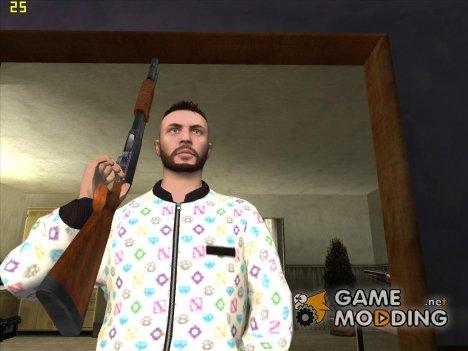Парень в кофте из New DLC для GTA San Andreas